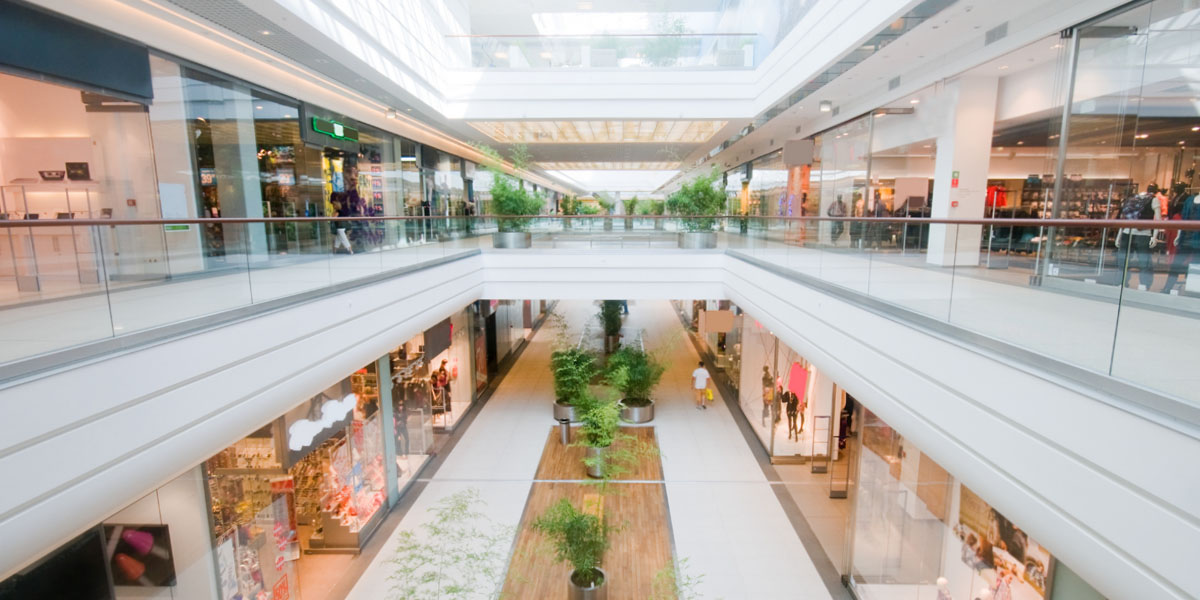 CAREL solutions for shopping centres